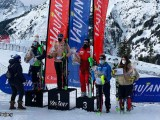 Martina Ostler, Andreja Slokar et Serena Viviani - Coupe d'Europe de Ski Alpin Vaujany 2021 - Ski alpin féminin - Sport Féminin - Femmes de Sport