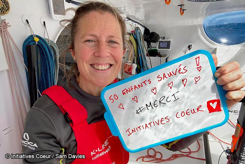 Samantha Davies - Initiatives-Coeur - Vendée Globe 2020 - Voile féminine - Sport Féminin - Femmes de Sport