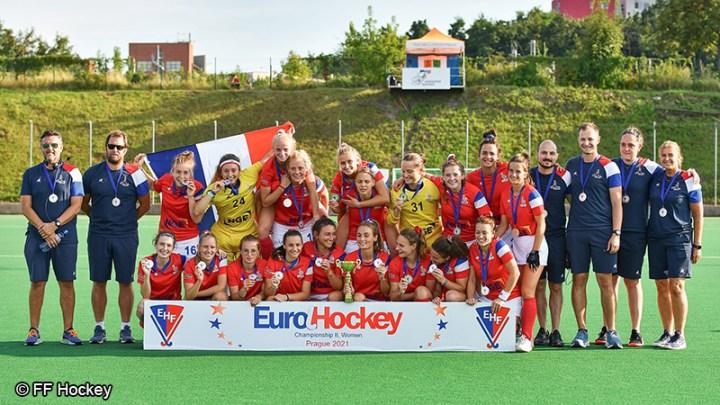 Equipe de France féminine de Hockey sur Gazon - Sport féminin - Femmes de Sport