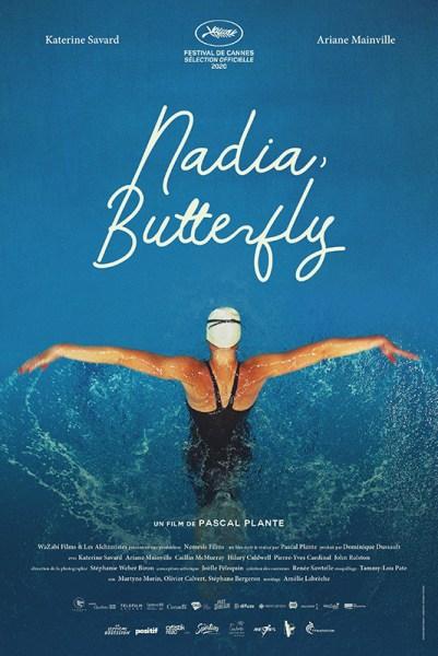Nadia, Butterfly - Affiche - Film - Natation féminine - Sport féminin - Femmes de Sport