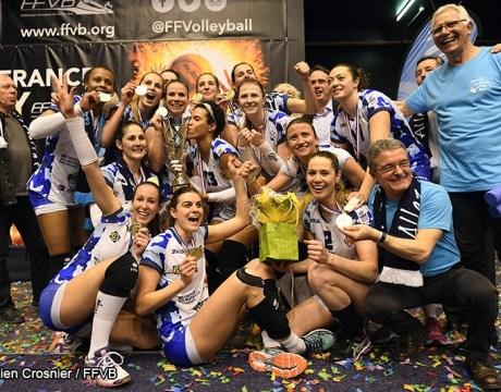 Volley Coupe de France 2017 - Vainqueur Aix Venelles