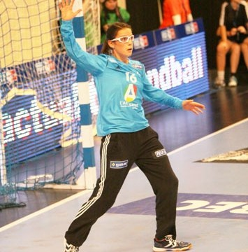 Handball - Equipe de France Féminine de Handball - Cléopâtre Darleux