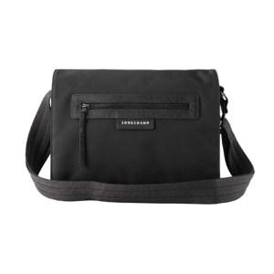 Longchamp – Bisaccia Tessuto Tracolla Pliage Neo Nero