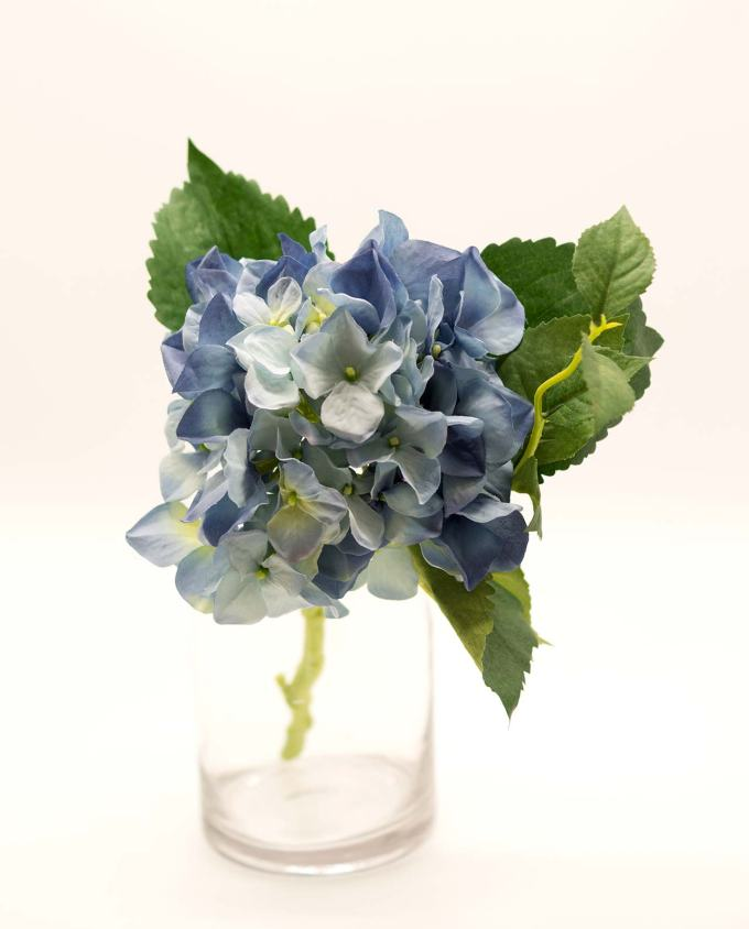 Fabric light blue Hydrangea