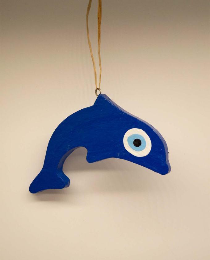 Δελφίνι ματάκι ξύλινο