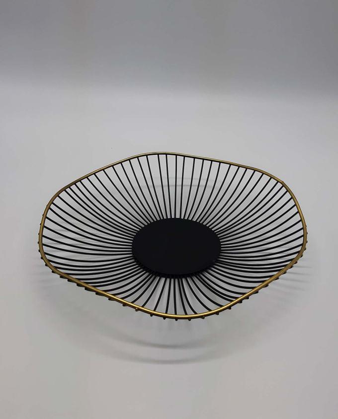 """Platter metal """"Bohemian"""" diameter 30 cm"""
