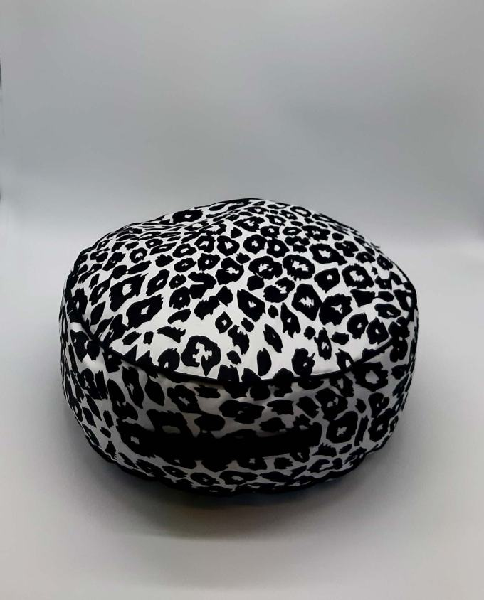 "Seat Cushion ""Leopard"" diameter 45 cm"