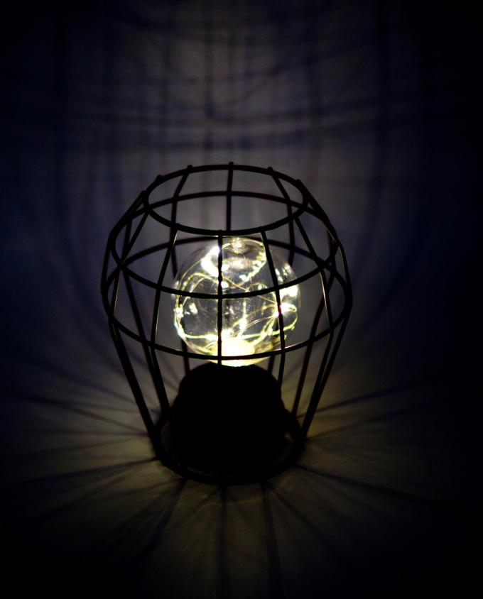 table-lamp-metal-lamp-lighted