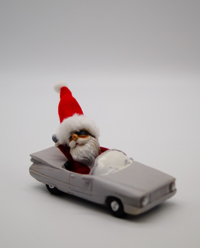 Santa Claus Cabriolet Car