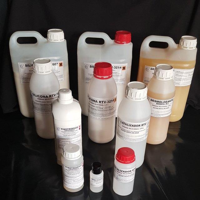 silicona rtv para moldes
