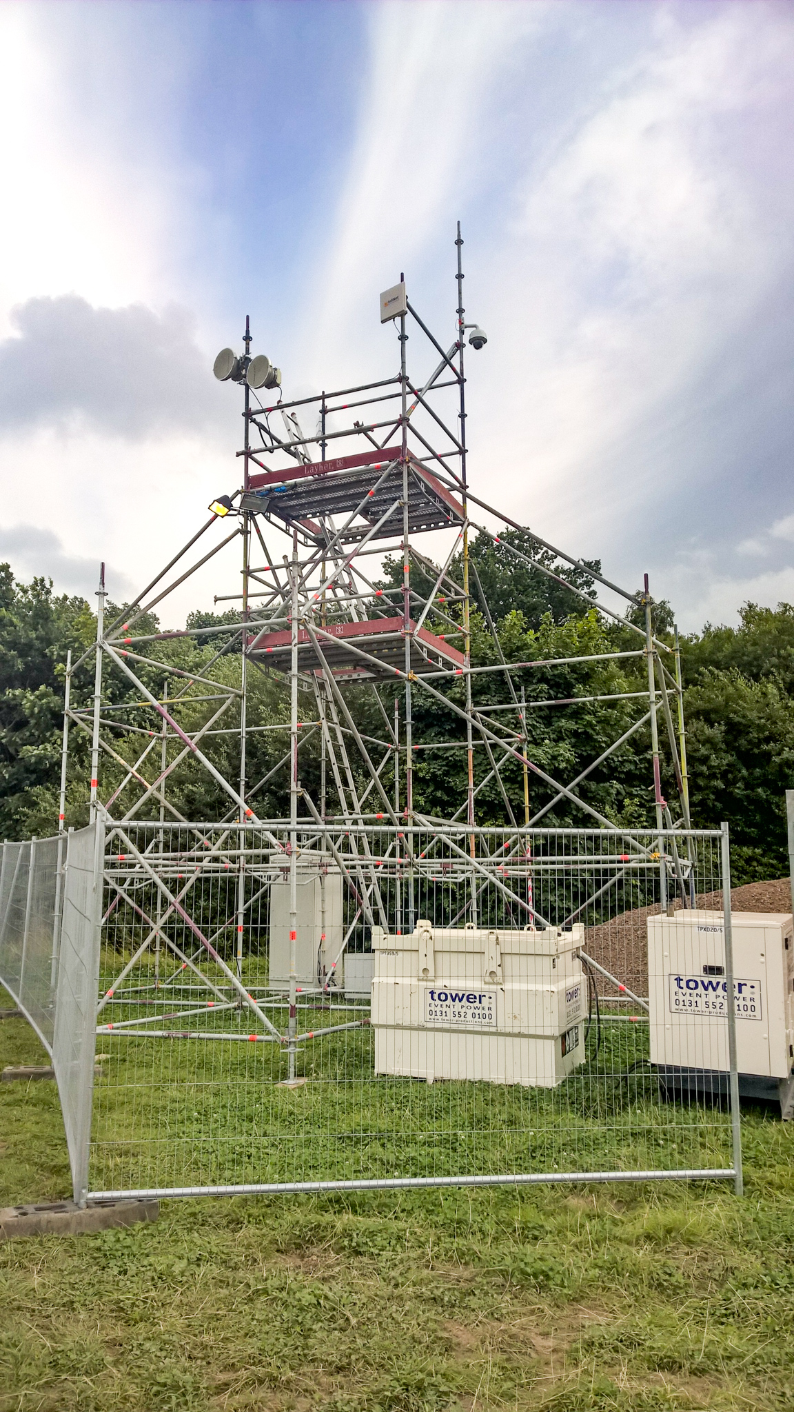 Scaffold Comms Tower