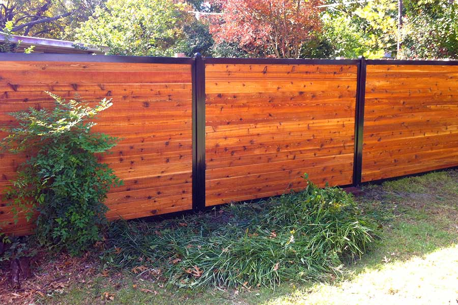 The Ultimate Collection of Privacy Fence Ideas (Create Any ... on Decorations For Privacy Fence id=99334