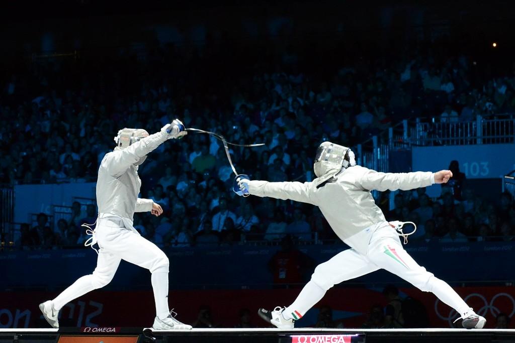 Image result for Sabre Fencing