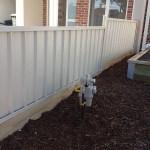 Colorbond fence Essendon