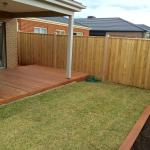 Timber Fence Diggers Rest