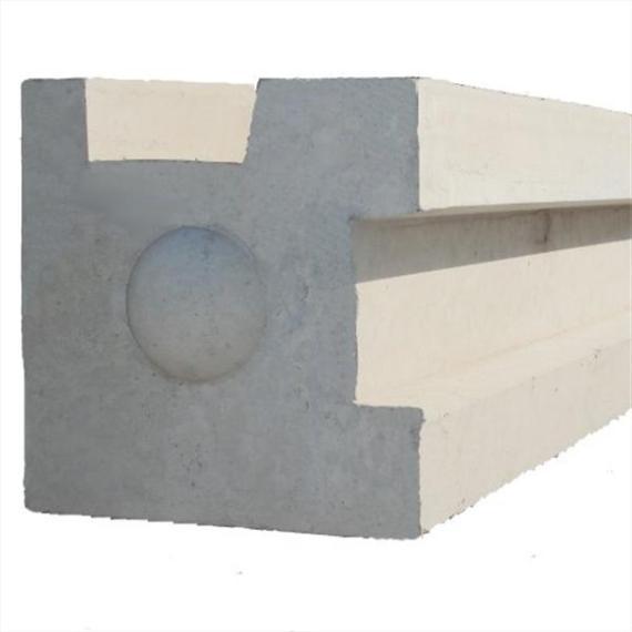"""Concrete Corner Post - 7'9"""""""