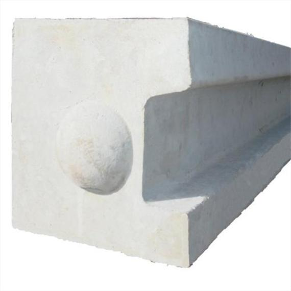 Concrete End Post - 4'6