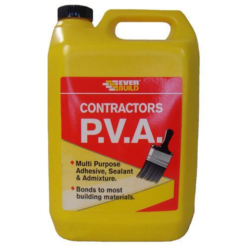 Everbuild Contractors PVA - 5lt