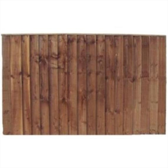 Feather Edge Fence Panel - 6'x4'