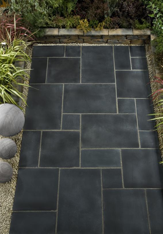 Natural Stone Paving - Black