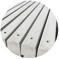 Concrete Holed Posts