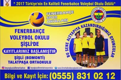 YENİ VOLEYBOL OKULU ŞUBEMİZ ŞİŞLİ'DE!
