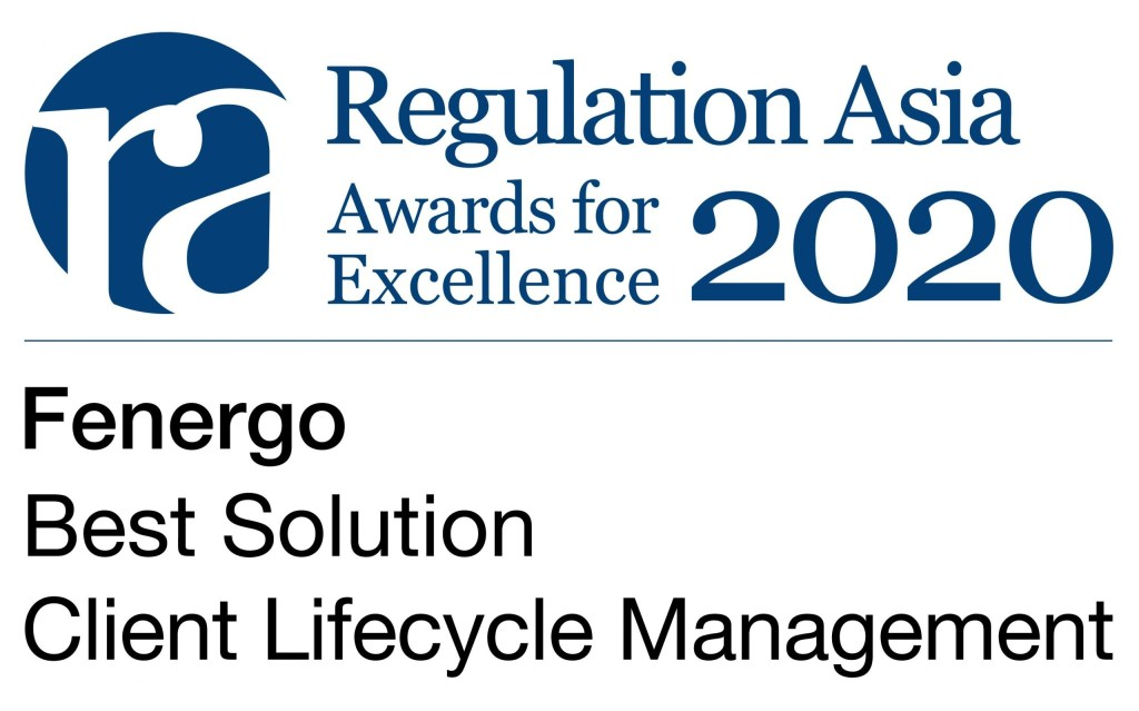 2020 RegAsia Best Solution Client Lifecycle Management scaled