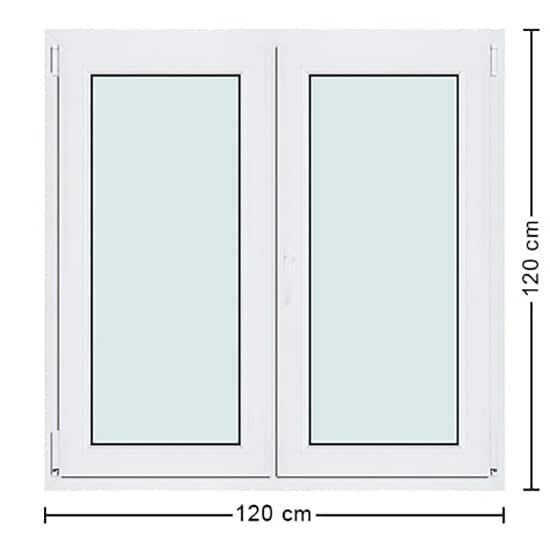 dimensions fenetre pvc tailles 100
