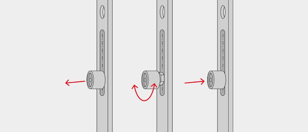 regler la pression d appui d une porte fenetre