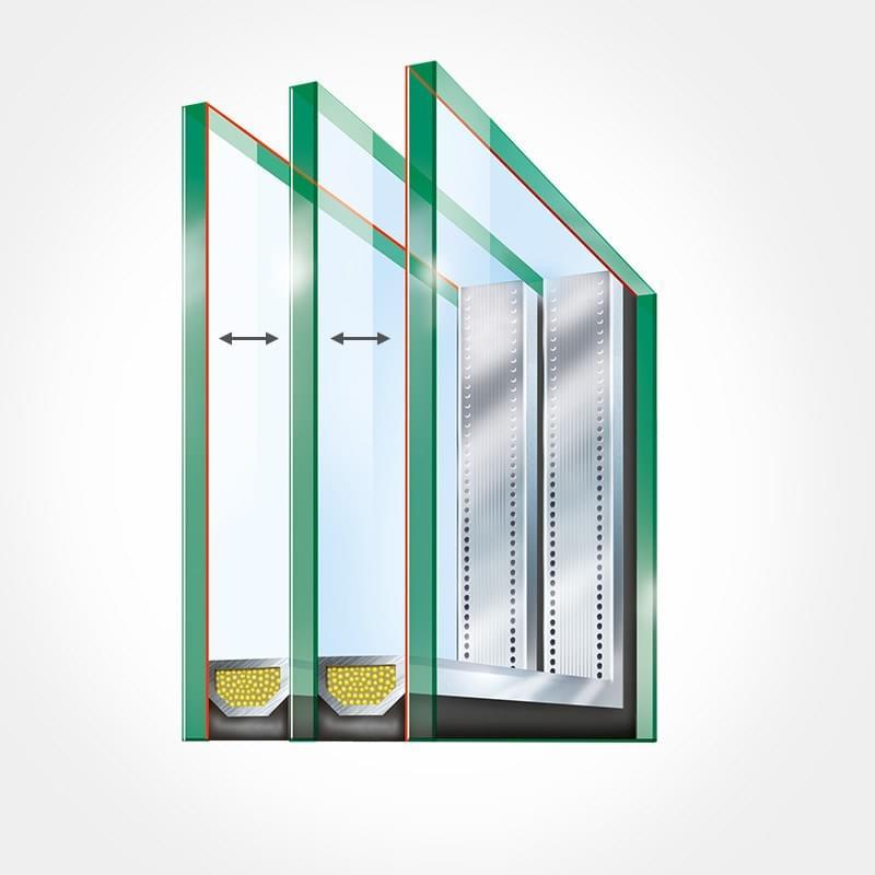vitre double vitrage vitrages ultra