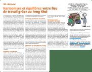 L'ECOLOMAG « Le Feng Shui au Bureau » écrit par Chris PALETTE & Guillaume REY