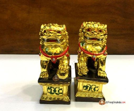 buy feng shui temple lions