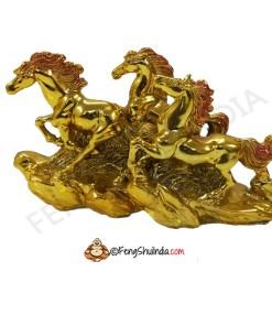 Three Running Horses Feng Shui