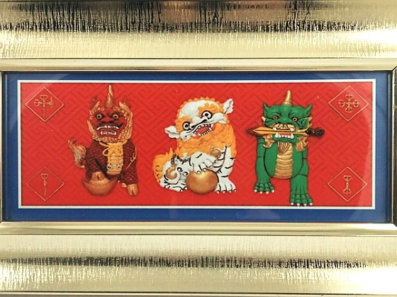 3 Celestial Divine Guardians Plaque for Flying Stars Feng Shui for Chinese New Year of Fire Monkey 2016