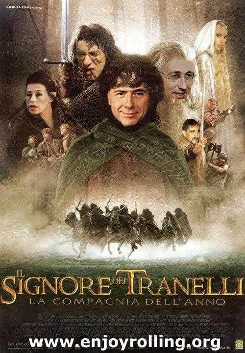 Il Signore dei Tranelli!! Prossimamente in tutti i Cinema!
