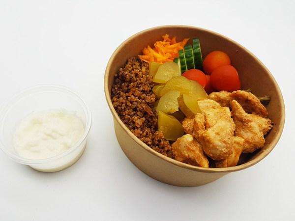 Pokebowl au poulet