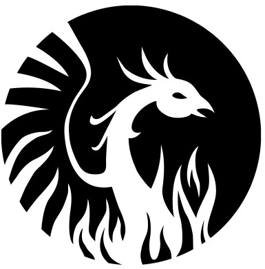 fenix logo nero