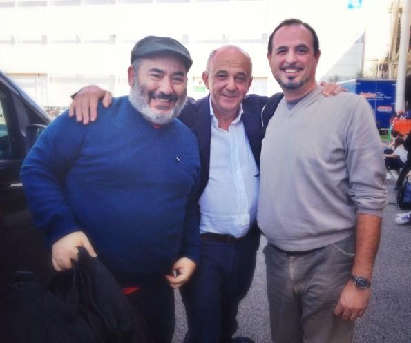 Giuseppe Palumbo, Franco Serra e Luca De Crescenzo