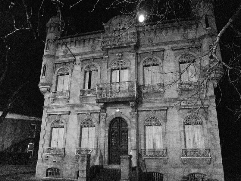 real paranormal mansion ghost sighting