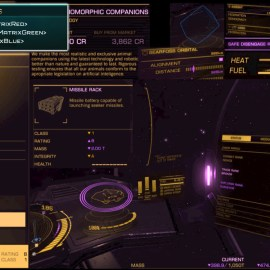 Elite HUD Colour Schemes