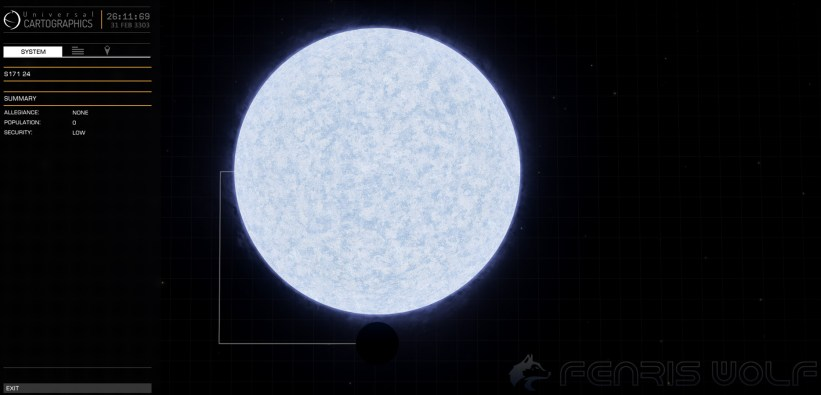 S171 24 - Black Hole = 1