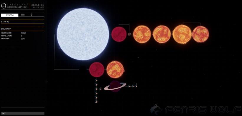 S171 30 - Black Hole = 1