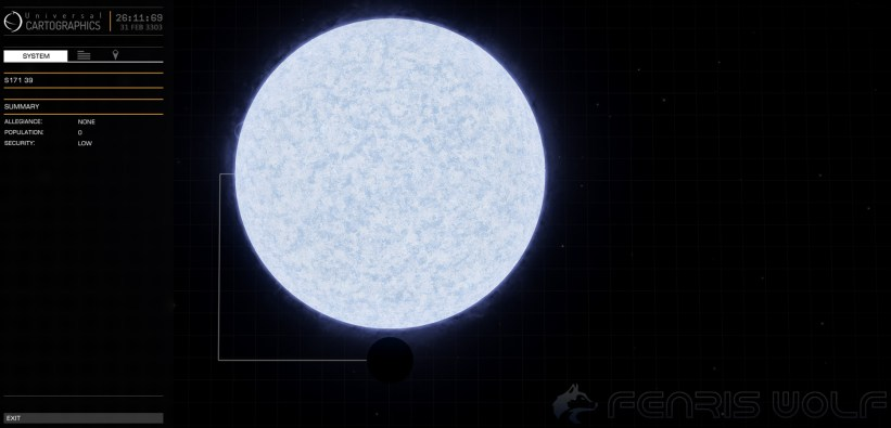 S171 39 - Black Hole = 1