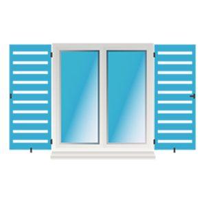 Fensterklappladen