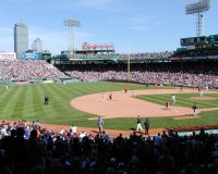 The field at Fenway Park