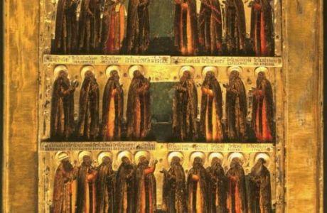 Преподобный Ферапонт Боровенский, Калужский (память 6/19 июля)
