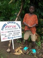 I am AKEM ZIDAN YUH, i am an orphan, i lost my parents when i was 4years old and now, there is no one to care for me. Please, help me through FEPCIG CAMEROON to be able to acquire my school needs. THANKS FOR YOUR SYMPATHY.