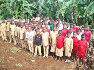 These children need your support in order to build their classroom because they are learning in open air which is a poor condition. Thanks for your help.