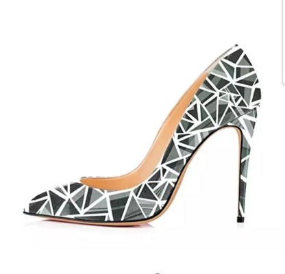The Ferago Monisha Multicolored Pumps 07