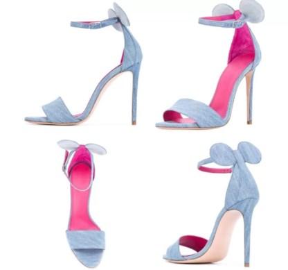 The Ferago Mini Mouse Heels 7